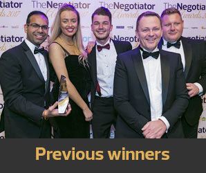 The Negotiator Awards 2017 winners image