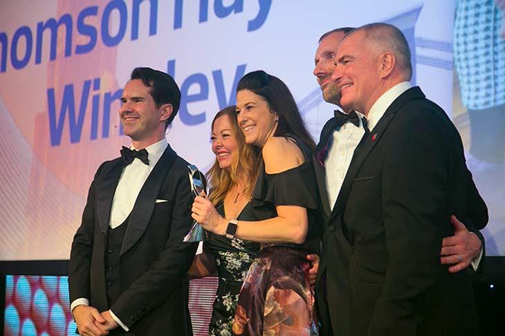 Thomson Hayton Winkley North East and North West Estate Agency Award The Negotiator Awards 2017 Clare Hoban Angela Horn image