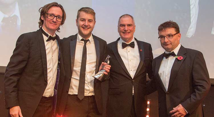 SDLAuc Andy Thompson Negotiator Awards rising star estate agency award image