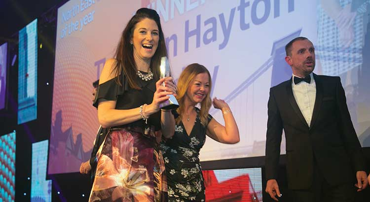 Thomson Hayton-Winkley North East and North West Estate Agency Award The Negotiator Awards 2017 image