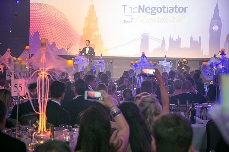 The Negotiator Awards Jimmy Carr Presenter Gala Dinner 2017 image