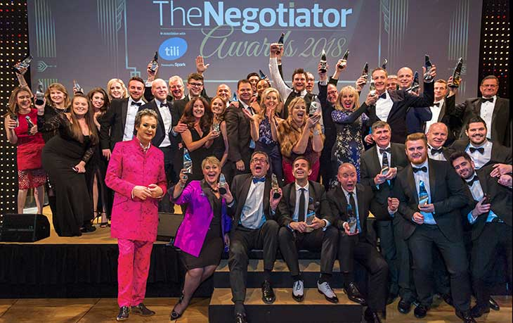 The Winners The Negotiator Awards Estate Agent Awards 2018 image