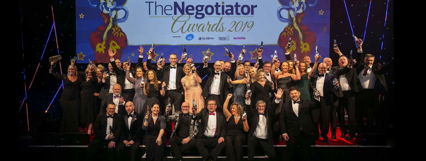 The Negotiator Awards National Estate and Letting Agent Awards Winners 2019 image